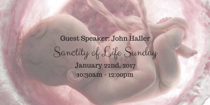 Guest Speaker John Haller