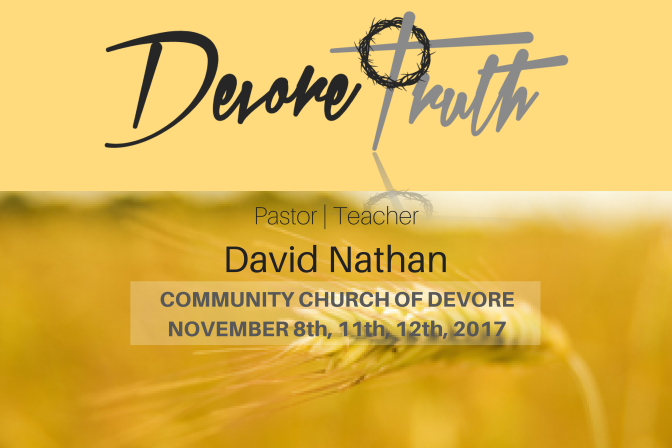 Pastor/Teacher – David Nathan