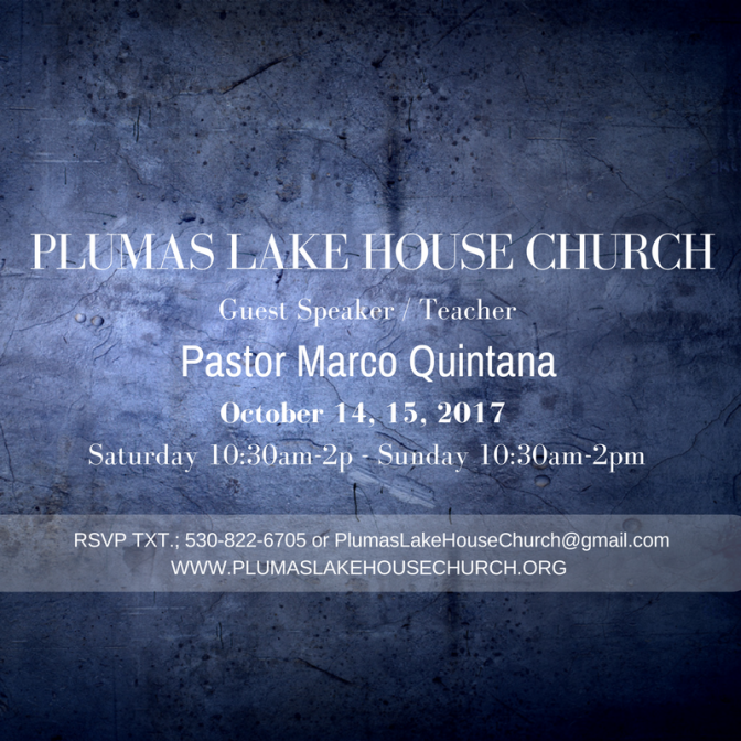 Marco Quintana at Plumas Lake House Church